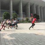 大阪・長居公園子どもランニング教室開催レポート(飛知和弓子認定コーチ)